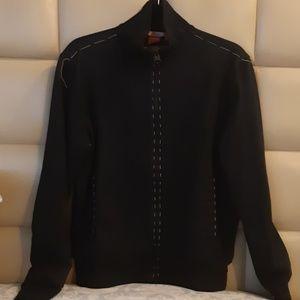 Hugo Boss handcrafted black jacket